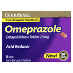 Omeprazole 20mg Tablets 28's